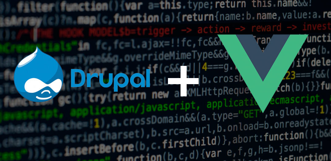 Drupal + Vue.js = Awesome
